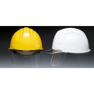 (DIC/ディック) ABS素材作業用ヘルメット SYA-CSV インナーシールド/ベンチレーション付 (ライナー入) (工事用/防災)|anzenmall
