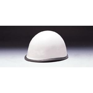 (DIC/ディック) ABS素材 ヘルメット MPA 消防団用 ゴム付 ライナー入 白 無地 (工事用/防災)|anzenmall