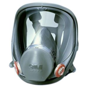 3M 防毒マスク 6000F 全面形面体 送料無料|anzenmall