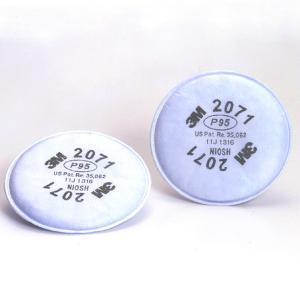 (3M) 防塵マスク用 交換用フィルター 2071 (6000用) (2枚/1組)|anzenmall