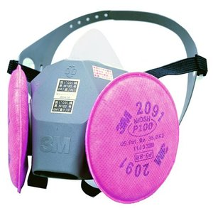 (3M) 取替え式 防塵マスク 6000DDSR/2091-RL3 anzenmall