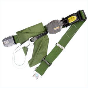 一般高所用安全帯 リーロックS2ライト ワンタッチバックル OT-SL505 サンコー/タイタン(一本つり/ストラップ巻取/インターロック機構) 送料無料|anzenmall