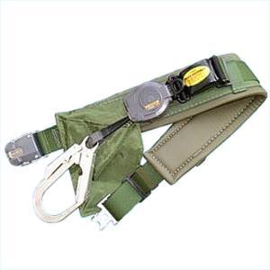 送料無料サンコー/タイタン 一般高所用 安全帯 リーロックS2ライト ワンタッチバックルPRO(補助ベルト) OT-SL505-PROスカイブルー一本つり専用|anzenmall