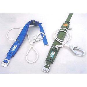 一般高所用 安全帯 カルラックPRO(補助ベルト)PRO-24AP  (サンコー/タイタン) (一本つり専用 ロープ式)|anzenmall
