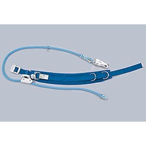 柱上用 安全帯 U字吊り・1本吊り兼用 腰ピタ DライトCV16  (サンコー/タイタン) (ベルトのカーブが腰にフィット) 送料無料|anzenmall