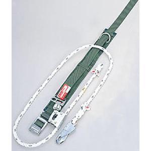 柱上用 安全帯 U字つり専用タイプ UP-10S  (サンコー/タイタン) (赤芯入りシグナルロープ)|anzenmall
