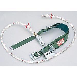 柱上用 安全帯 U字つり専用タイプ UP-CP  (サンコー/タイタン) (ワイヤー芯入りロープ採用 林業向け) 送料無料|anzenmall