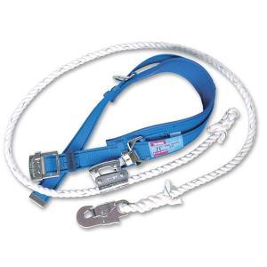 柱上用 安全帯 U字つり専用タイプ FC-11  (藤井電工/ツヨロン) (ランヤードには操作性に優れたビニロンロープを採用) 送料無料|anzenmall