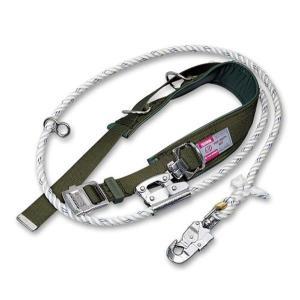 柱上用 安全帯 U字吊り・1本吊り兼用  63D-27 (藤井電工/ツヨロン) 送料無料|anzenmall