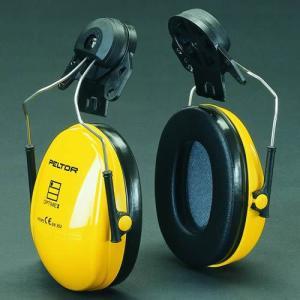 イヤーマフ ヘルメット用 防音 H510P3E ぺルター製 (遮音値 NRR21dB) 3M PELTOR 耳栓