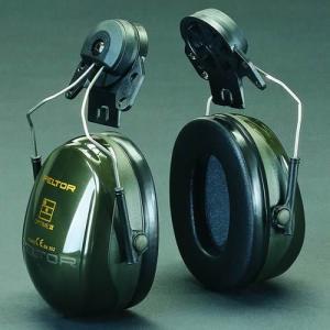 イヤーマフ ヘルメット用 防音 H520P3E ぺルター製 (遮音値 NRR23dB) (3M PELTOR) 耳栓