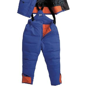 送料無料サンエス 冷凍倉庫用 防寒パンツ BO8005 (ST8005) 防寒着・作業服・防寒対策 -60度の冷凍庫でも使用可能な防寒パンツ|anzenmall