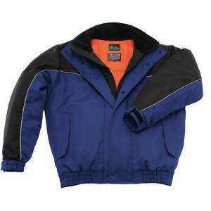 送料無料サンエス 冷凍倉庫用 防寒ブルゾン BO8002 (ST8002)防寒着・作業服・防寒対策 -40度の冷凍庫でも使用可能な防寒ブルゾン|anzenmall