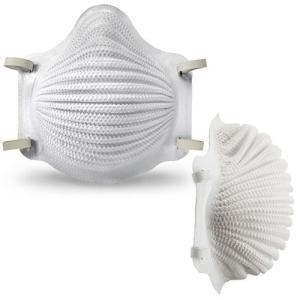 暑さ対策(モルデックス) 使い捨て式 防塵マスク 4200 DS2シリーズ S/Mサイズ (10枚入) (PM2.5/粉塵/作業用) anzenmall