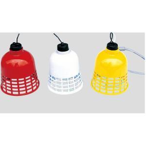 回転灯 2mものすずらん灯(赤カバー)|387-50