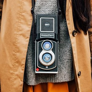 世界初の 二眼レフ インスタントカメラ InstantFlex TL70 本体|anzy-mou|04