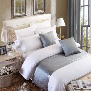 OSVINO ベッド用品 ベッドアクセサリー ベッドライナー ホテル 自宅 ベッドスロー ジャガード織り 上品 落ち着いた色合い 手軽に高級ホテルの雰|aobashop
