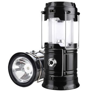 G-LUCK LED ランタン 懐中電灯 防滴 メタルライト 充電式 360度 自動点灯 高輝度 ス...