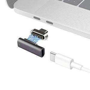 MagJet 磁気 マグネット USB-Cアダプター 20ピン 100W急速充電 10Gb/sデータ転送 4Kビデオ出力 USB Cデバイス対応|aobashop
