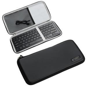 Anker ウルトラスリム Bluetooth ワイヤレスキーボード専用保護収納ケース-Hermit...