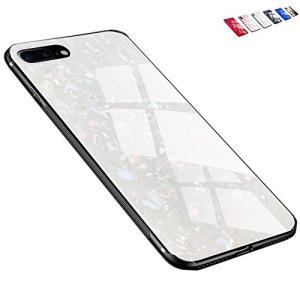 iPhone 8Plus iPhone 7Plus ケース 全面保護カバー レンズ保護 薄型 傷防止(univo colors) (12,ホワイト)|aobashop