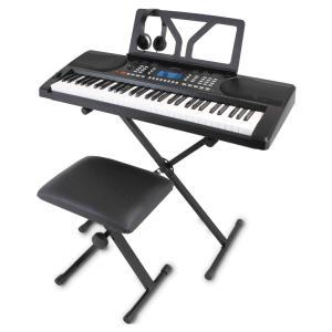 ONETONE ワントーン 電子キーボード 61鍵盤 初心者セット ピッチベンド搭載 日本語表記 OTK-61S (譜面立て/電源アダプター/スタンド/椅子/ヘッドフォン付き)の商品画像 ナビ
