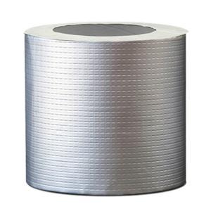 強力 補修 ブチルテープ ひび割れ 亀裂 修理 防水 粘着 テープ シーラントテープ 水回り シルバー 融着 シール パテ 多用途|aobashop