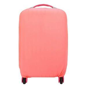 スーツケースカバー 伸縮素材  キャリーケース バッグ カバー 選べる 8色 3サイズ ナイロン製リュック付き (07の商品画像|ナビ