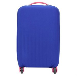 スーツケースカバー 伸縮素材 【DauStage】 キャリーケース バッグ カバー 選べる 8色 3サイズ ナイロン製リュック付き (18,ブルー Lの商品画像 ナビ
