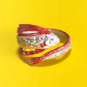 ★6/15入荷予定★新商品 リュウグウノツカイ リング 指輪 Palnart Poc パルナートポック 深海魚 RN193 送料200円 1万円以上送料無料|aodama-zakka