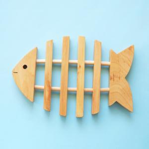 鍋敷き 魚 トリベットフィッシュ 北欧雑貨 Skandinavisk Hemslojd 送料200円 1万円以上送料無料|aodama-zakka