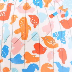 ウォールステッカー 鳥 貼り直しできる AIUEO M 送料200円 1万円以上送料無料|aodama-zakka