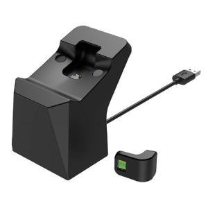 置くだけで充電できるコントローラースタンド(PS4用) ブラック CY-P4OCCS-BK