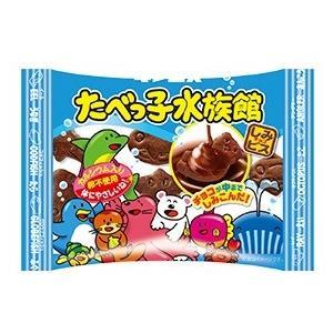 ギンビス たべっ子水族館30g 10入 駄菓子 子供会 景品 お祭り くじ引き 縁日|aoigangu