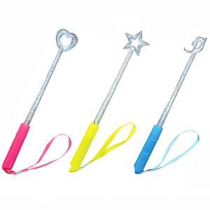 光る!星&ハートスティック 12入 景品 おもちゃ 子供会 お祭り くじ引き 縁日 お子様ランチ|aoigangu