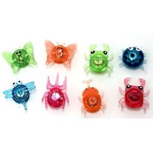 ピカピカ森の生物 48入 景品 おもちゃ 子供会 お祭り くじ引き 縁日 お子様ランチ|aoigangu