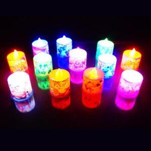 ディズニーミニキャンドルライト 24入 景品 おもちゃ 子供会 お祭り くじ引き 縁日 お子様ランチ|aoigangu