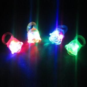光るフラワー指輪 36入 景品 おもちゃ 子供会 お祭り くじ引き 縁日 お子様ランチ|aoigangu