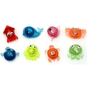 ピカピカ水族館 48入 景品 おもちゃ 子供会 お祭り くじ引き 縁日 お子様ランチ|aoigangu