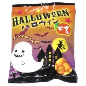 ハロウィンスナックピザ味 30入 駄菓子 おやつ 子供会 景品 お祭り くじ引き 縁日|aoigangu