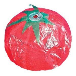 紙フーセン トマト3号 1枚 景品 おもちゃ 子供会 お祭り くじ引き 縁日 お子様ランチ|aoigangu