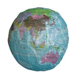 紙フーセン 地球3号 1枚 景品 おもちゃ 子供会 お祭り くじ引き 縁日 お子様ランチ
