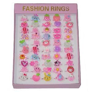 ファッションリング 50入 景品 おもちゃ 子供会 お祭り くじ引き 縁日 お子様ランチ aoigangu