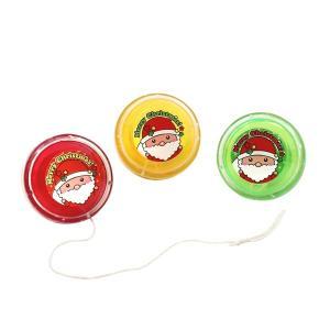 クリスマス スノーキッズクリアヨーヨー 25入 景品 おもちゃ 子供会 お祭り くじ引き 縁日 お子様ランチ|aoigangu