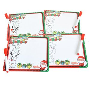 クリスマス スノーキッズ らくがきボード 25入 景品 おもちゃ 子供会 お祭り くじ引き 縁日 お子様ランチ|aoigangu