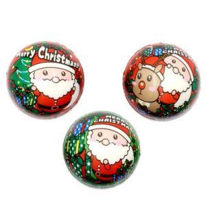 スノーキッズ やわらかサンタボール 12入 景品 おもちゃ 子供会 お祭り くじ引き 縁日 お子様ランチ|aoigangu