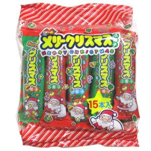 クリスマスふ菓子 30入|aoigangu