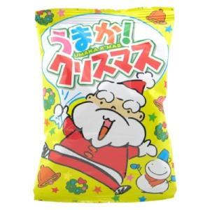 うまか!クリスマス 30入 駄菓子 おやつ 子供会 景品 お祭り くじ引き 縁日|aoigangu