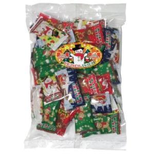 クリスマスピーナッツクランチ200g(約40個) 駄菓子 おやつ 子供会 景品 お祭り くじ引き 縁日|aoigangu