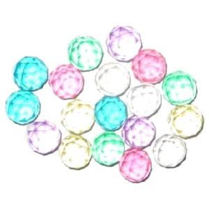 スーパーボール32mm ダイヤモンドカット 40入 景品 おもちゃ 子供会 お祭り くじ引き 縁日 お子様ランチ|aoigangu